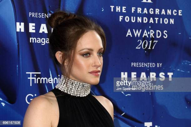 Actress Carly Chaikin attends the 2017 Fragrance Foundation Awards at Alice Tully Hall Lincoln Center on June 14 2017 in New York City