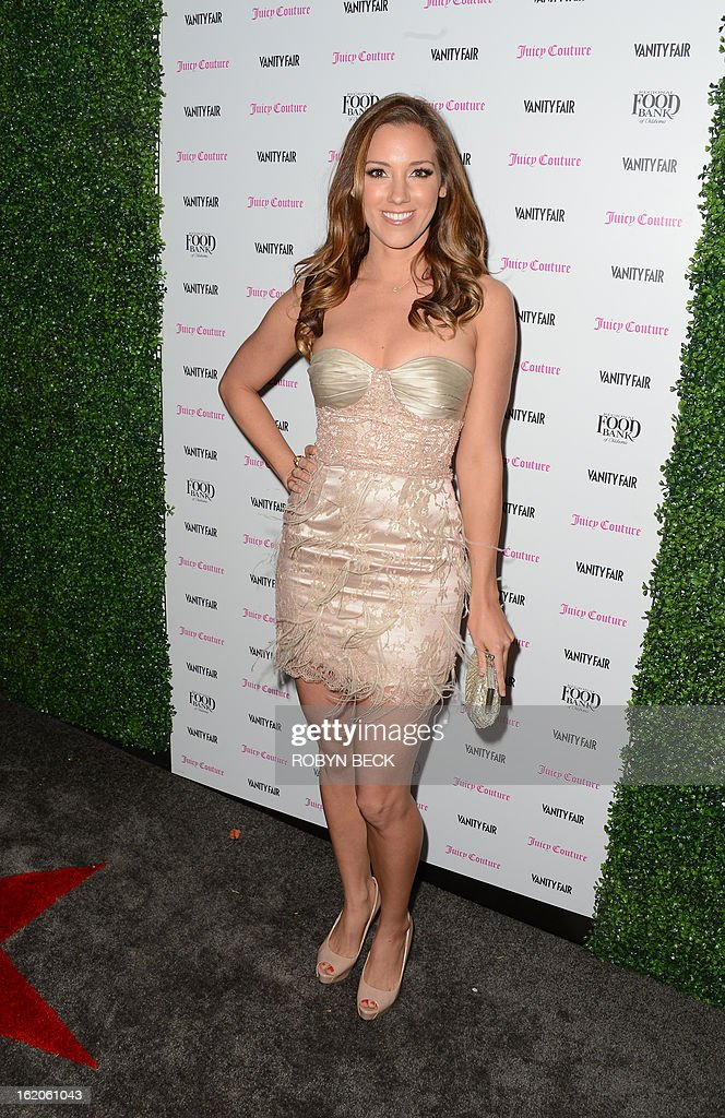 Actress Carly Craig attends the Vanity Fair And Juicy Couture Celebration Of The 2013 Vanities Calendar party at Chateau Marmont February 18, 2013 in West Hollywood, California. AFP PHOTO Robyn BECK