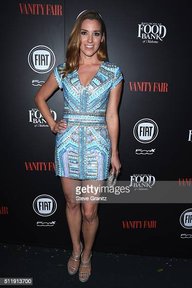 Actress Carly Craig attends Vanity Fair and FIAT Toast To 'Young Hollywood' at Chateau Marmont on February 23 2016 in Los Angeles California