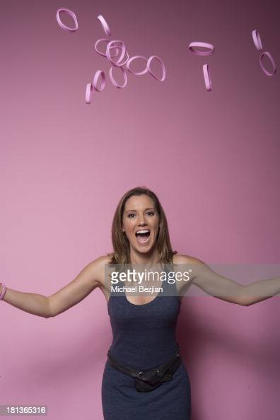 Actress Carly Craig poses for a portrait at the Mark Kearney Group 'Iced Out' Luxury Emmy Suite on September 20 2013 in Los Angeles California
