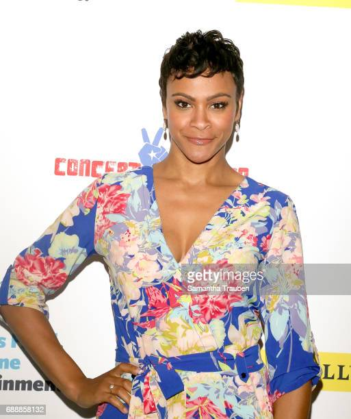 Actress Carly Hughes attends Concert for America Stand Up Sing Out at Royce Hall on May 24 2017 in Los Angeles California