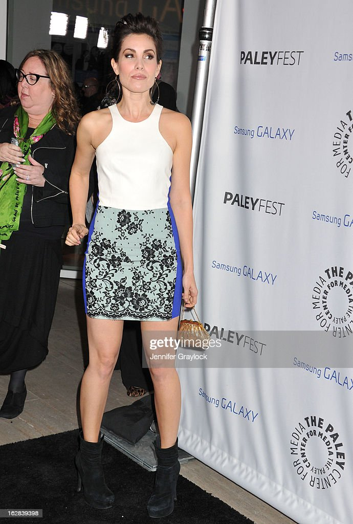 Actress Carly Pope attends the PaleyFest Icon Award 2013 held at The Paley Center for Media on February 27, 2013 in Beverly Hills, California.