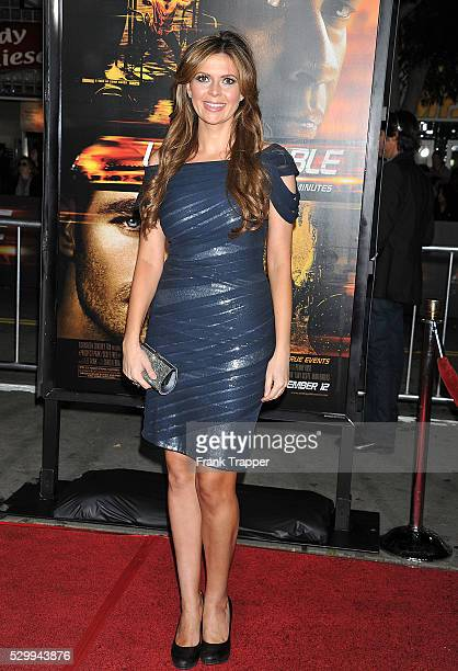 Actress Carly Steel arrives at the premiere of 'Unstoppable' held at the Regency Village Theater in Westwood