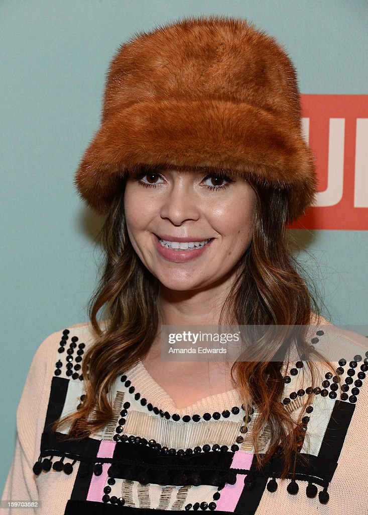 Actress Carly Steel attends Day 1 of the Kari Feinstein Style Lounge on January 18, 2013 in Park City, Utah.