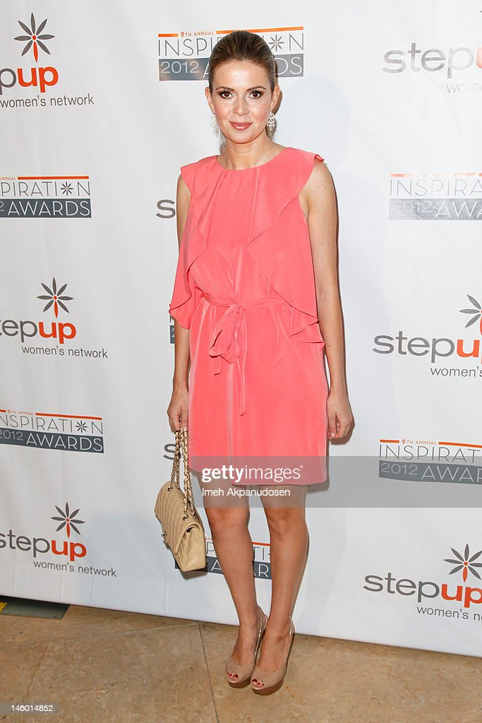 Actress Carly Steel attends Step Up Women's Networks' 9th Annual Inspiration Awards at The Beverly Hilton Hotel on June 8, 2012 in Beverly Hills, California.