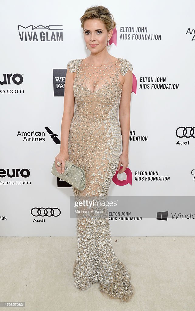 Actress <a gi-track='captionPersonalityLinkClicked' href=/galleries/search?phrase=Carly+Steel&family=editorial&specificpeople=3963749 ng-click='$event.stopPropagation()'>Carly Steel</a> attends the 22nd Annual Elton John AIDS Foundation Academy Awards Viewing Party at The City of West Hollywood Park on March 2, 2014 in West Hollywood, California.