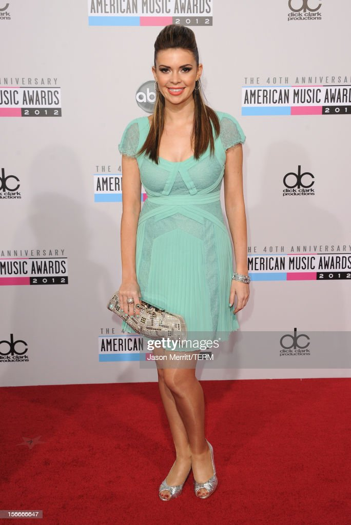 Actress Carly Steel attends the 40th American Music Awards held at Nokia Theatre L.A. Live on November 18, 2012 in Los Angeles, California.