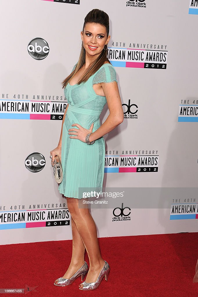 Actress Carly Steel attends the 40th Anniversary American Music Awards held at Nokia Theatre L.A. Live on November 18, 2012 in Los Angeles, California.