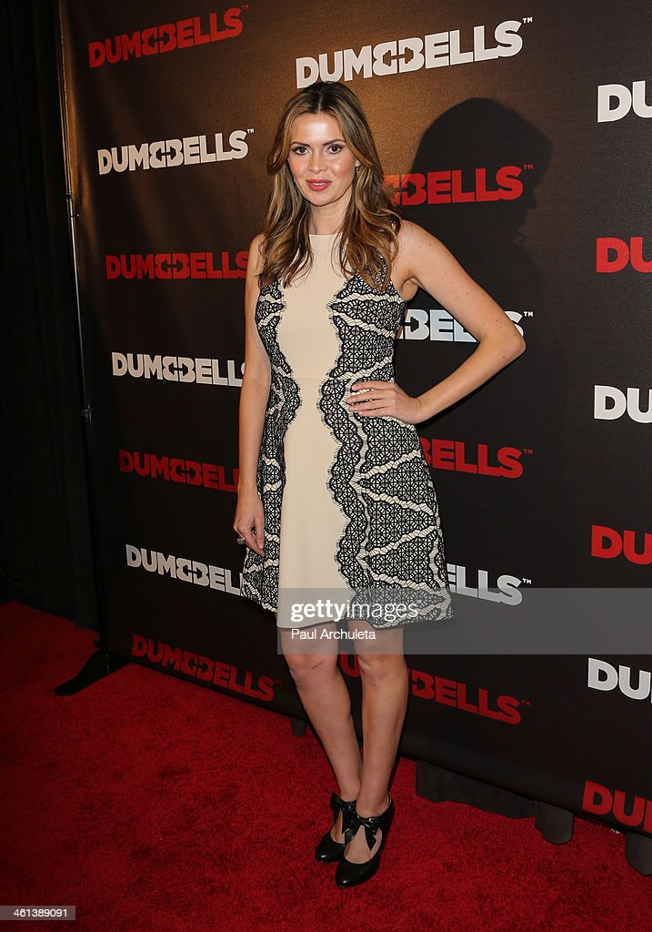 Actress <a gi-track='captionPersonalityLinkClicked' href=/galleries/search?phrase=Carly+Steel&family=editorial&specificpeople=3963749 ng-click='$event.stopPropagation()'>Carly Steel</a> attends the 'Dumbbells' premiere at SupperClub Los Angeles on January 7, 2014 in Los Angeles, California.