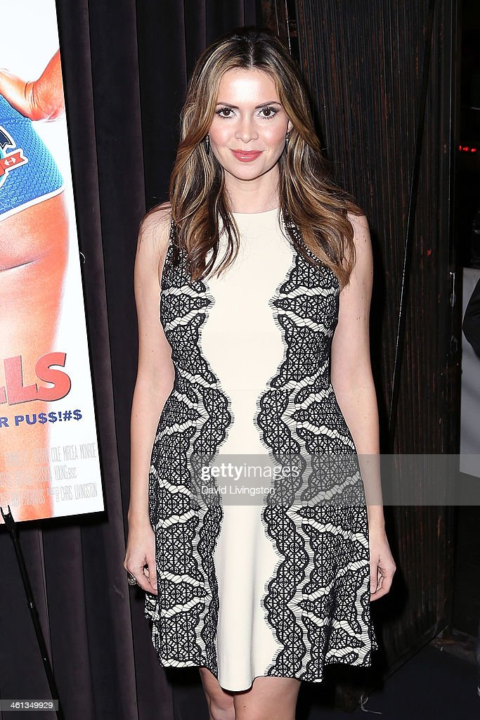 Actress <a gi-track='captionPersonalityLinkClicked' href=/galleries/search?phrase=Carly+Steel&family=editorial&specificpeople=3963749 ng-click='$event.stopPropagation()'>Carly Steel</a> attends the premiere of GoDigital's 'Dumbbells' at SupperClub Los Angeles on January 7, 2014 in Los Angeles, California.