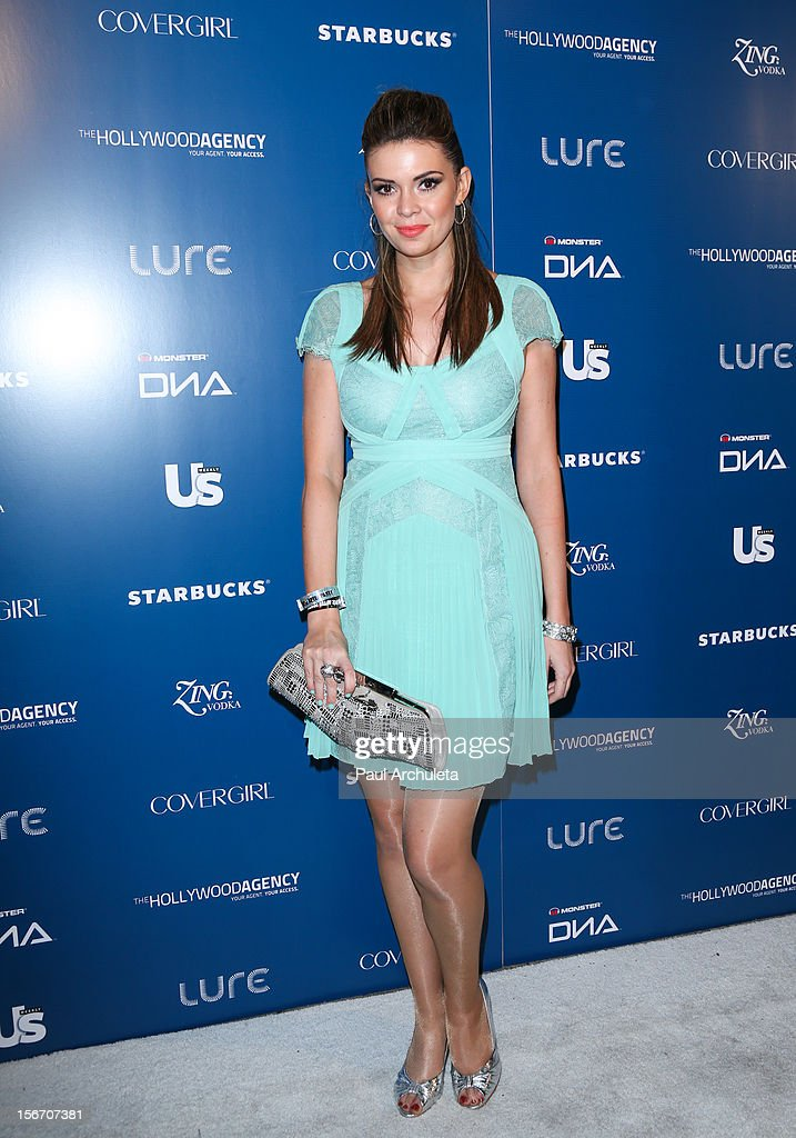 Actress Carly Steel attends US Weekly Magazine's AMA after party at Lure on November 18, 2012 in Hollywood, California.