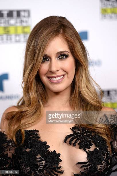 Actress Carmen Aub attends the 2016 Latin American Music Awards at Dolby Theatre on October 6 2016 in Hollywood California