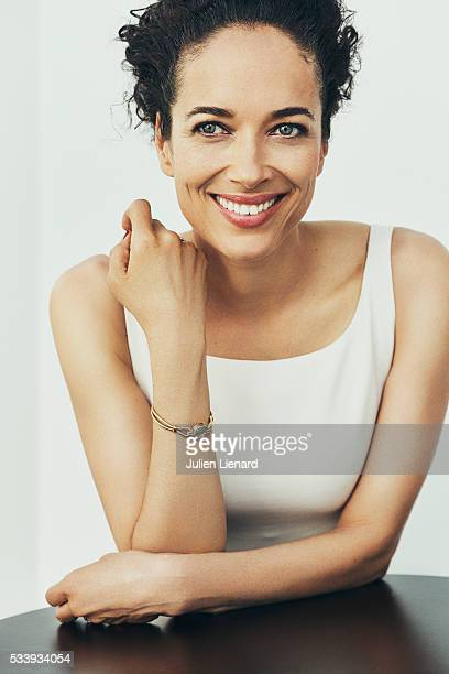 Actress Carmen Chaplin is photographed for Self Assignment on May 17 2016 in Cannes France