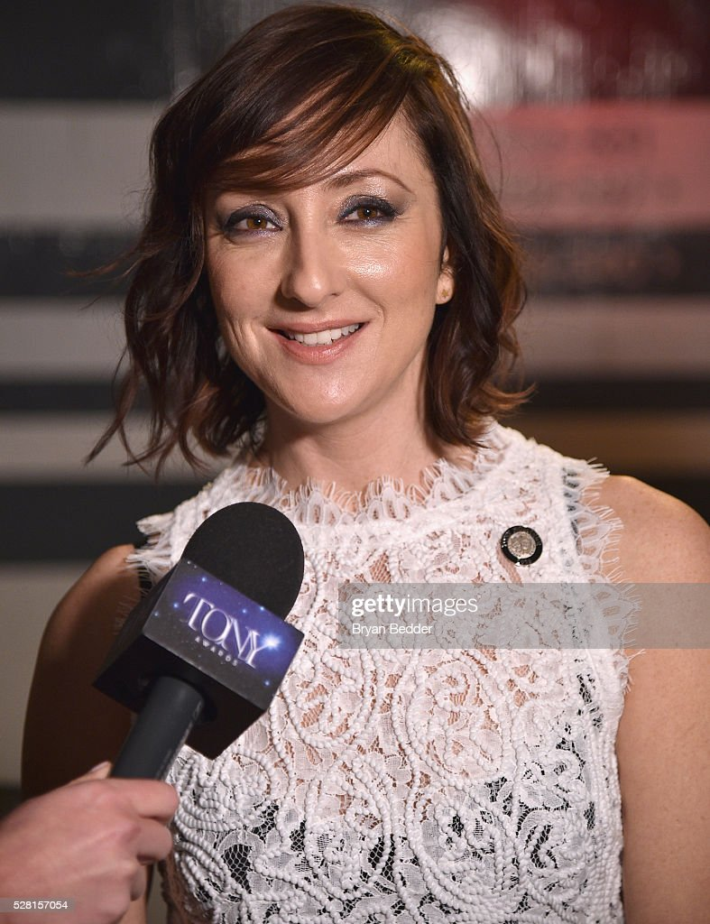 Actress <a gi-track='captionPersonalityLinkClicked' href=/galleries/search?phrase=Carmen+Cusack&family=editorial&specificpeople=7032113 ng-click='$event.stopPropagation()'>Carmen Cusack</a> attends the 2016 Tony Awards Meet The Nominees Press Reception on May 4, 2016 in New York City.