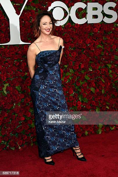 Actress Carmen Cusack attends the 70th Annual Tony Awards at The Beacon Theatre on June 12 2016 in New York City