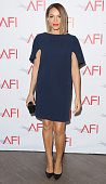 Actress Carmen Ejogo arrives at the 15th Annual AFI Awards at Four Seasons Hotel Los Angeles at Beverly Hills on January 9 2015 in Beverly Hills...