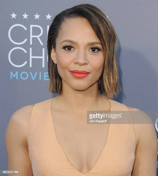 Actress Carmen Ejogo arrives at the 20th Annual Critics' Choice Movie Awards at Hollywood Palladium on January 15 2015 in Los Angeles California