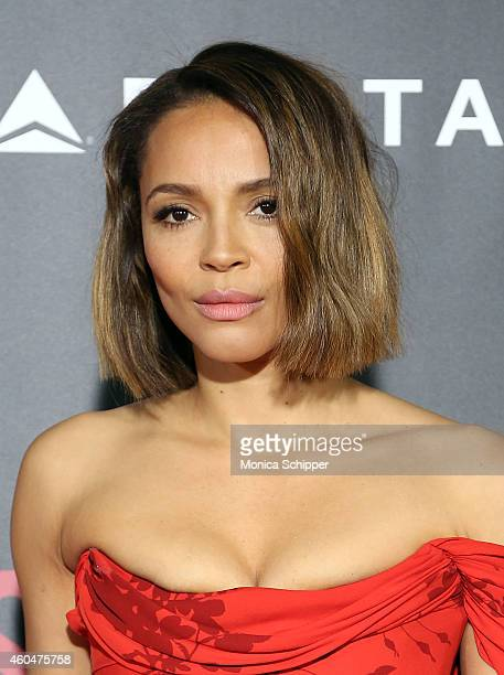 Actress Carmen Ejogo attends 'Selma' New York Premiere Inside Arrivals at Ziegfeld Theater on December 14 2014 in New York City