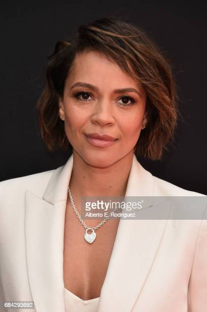 Actress Carmen Ejogo attends Sir Ridley Scott's hand and footprint ceremony at TCL Chinese Theatre IMAX on May 17 2017 in Hollywood California