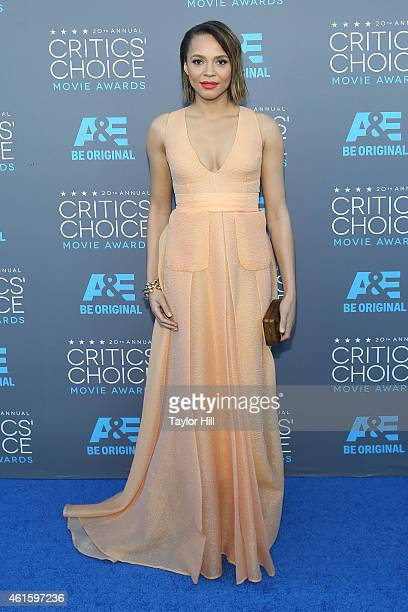 Actress Carmen Ejogo attends The 20th Annual Critics' Choice Movie Awards at Hollywood Palladium on January 15 2015 in Los Angeles California
