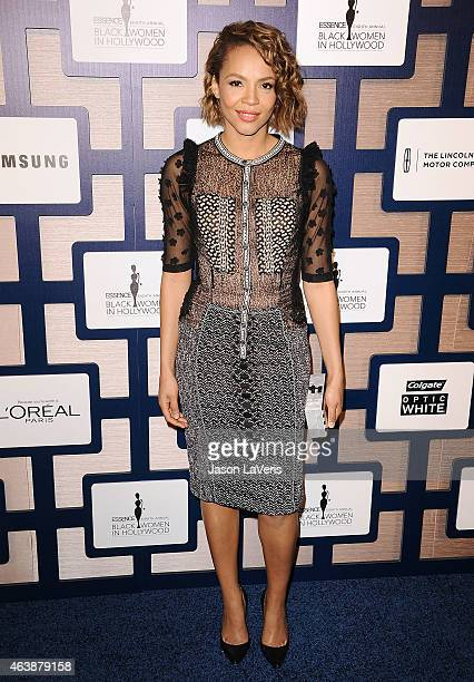 Actress Carmen Ejogo attends the 8th annual ESSENCE Black Women In Hollywood luncheon at the Beverly Wilshire Four Seasons Hotel on February 19 2015...
