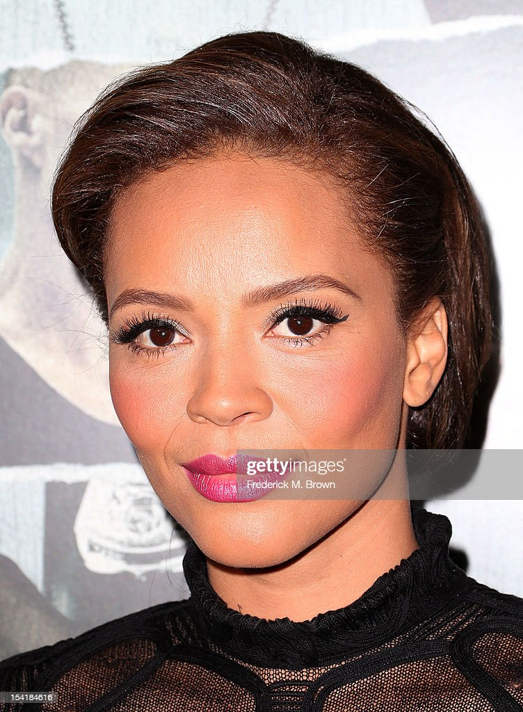 Actress Carmen Ejogo attends the Premiere Of Summit Entertainment's 'Alex Cross' at the ArcLight Cinemas Cinerama Dome on October 15, 2012 in Hollywood, California.
