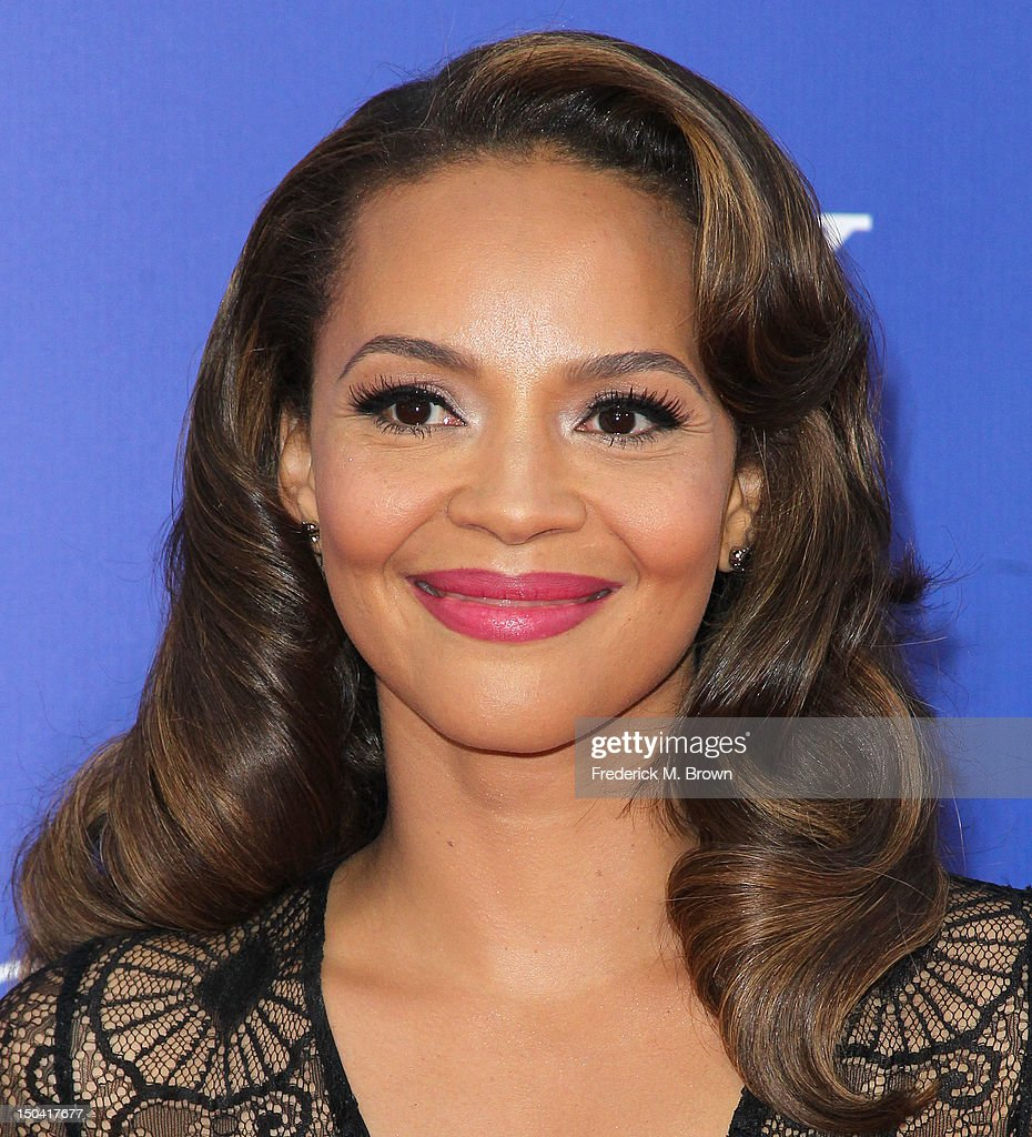 Actress Carmen Ejogo attends the Premiere Of Tri-Star Pictures' 'Sparkle' at Grauman's Chinese Theatre on August 16, 2012 in Hollywood, California.