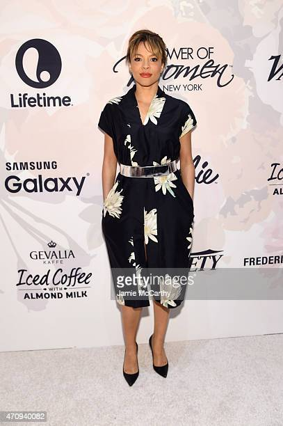 Actress Carmen Ejogo attends Variety's Power of Women New York presented by Lifetime at Cipriani 42nd Street on April 24 2015 in New York City