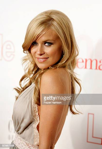 Actress Carmen Electra arrives at Life Style Magazine's Stylemakers 2005 a runway show and charity auction held at Montmartre Lounge on May 26 2005...
