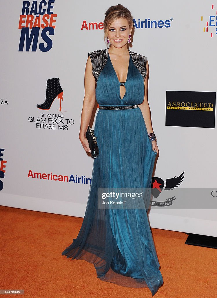 Actress <a gi-track='captionPersonalityLinkClicked' href=/galleries/search?phrase=Carmen+Electra&family=editorial&specificpeople=171242 ng-click='$event.stopPropagation()'>Carmen Electra</a> arrives at the 19th Annual Race To Erase MS Event at the Hyatt Regency Century Plaza on May 18, 2012 in Century City, California.