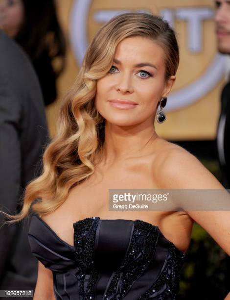 Actress Carmen Electra arrives at the 19th Annual Screen Actors Guild Awards at The Shrine Auditorium on January 27 2013 in Los Angeles California