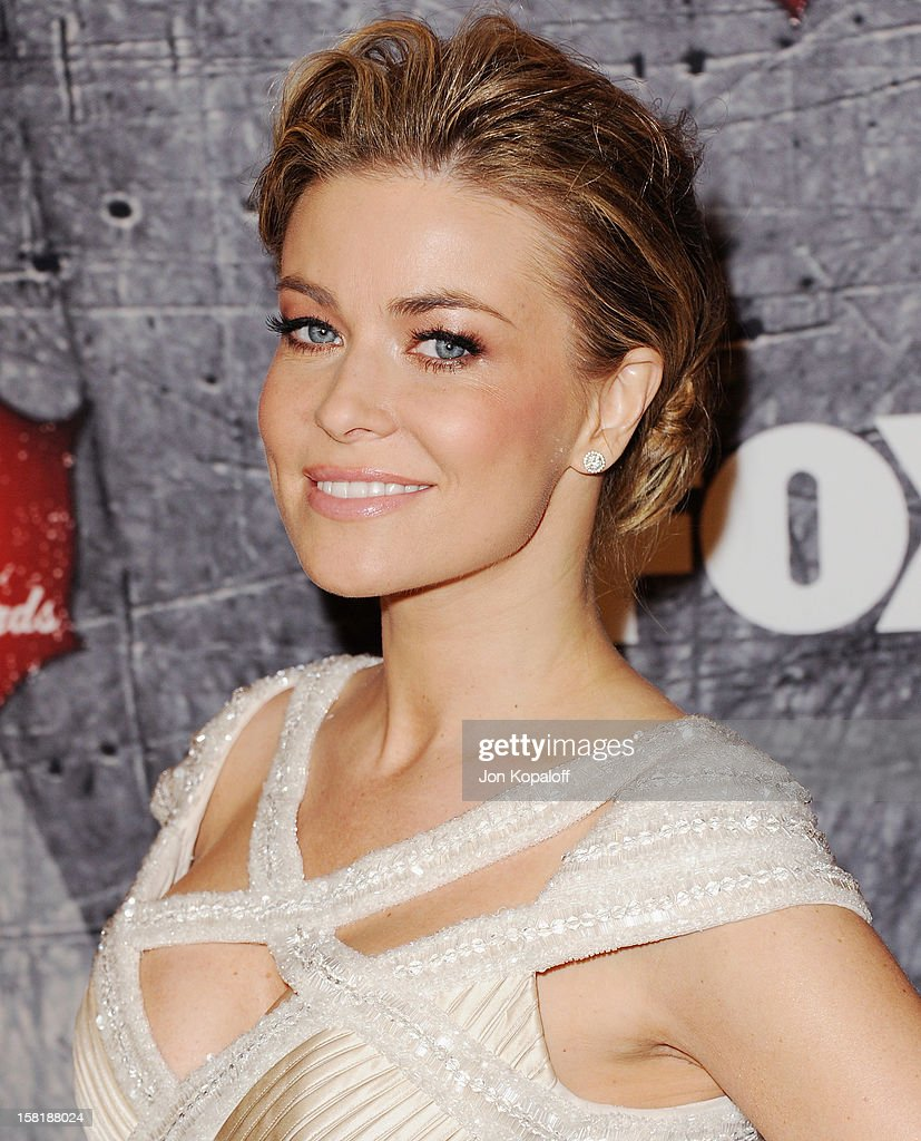Actress Carmen Electra arrives at the 2012 American Country Awards at Mandalay Bay on December 10, 2012 in Las Vegas, Nevada.
