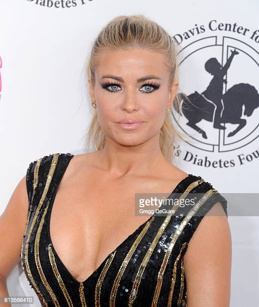 Actress Carmen Electra arrives at the 2016 Carousel Of Hope Ball at The Beverly Hilton Hotel on October 8 2016 in Beverly Hills California