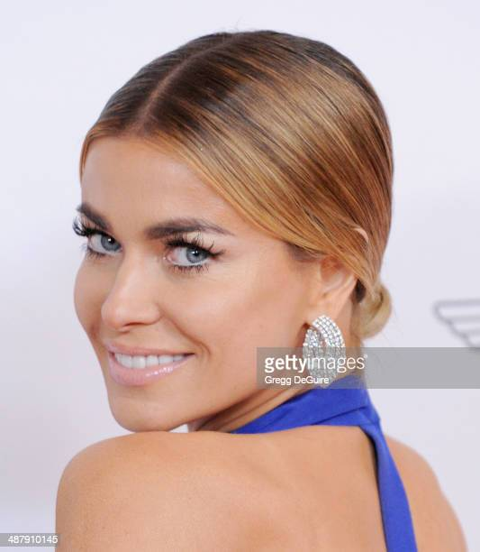 Actress Carmen Electra arrives at the 21st Annual Race To Erase MS Gala at the Hyatt Regency Century Plaza on May 2 2014 in Century City California