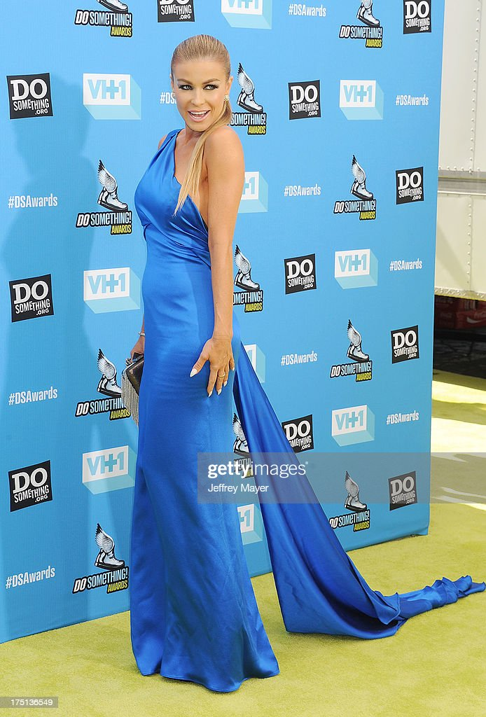 Actress Carmen Electra arrives at the DoSomething.org and VH1's 2013 Do Something Awards at Avalon on July 31, 2013 in Hollywood, California.