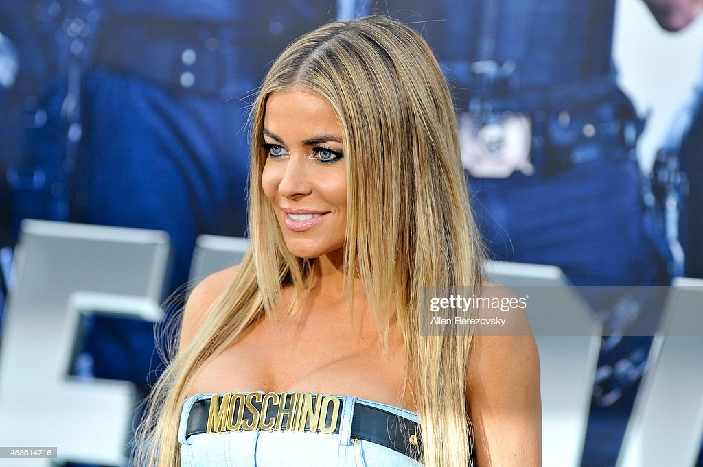 Actress Carmen Electra arrives at the Los Angeles premiere of Lionsgate Films' 'The Expendables 3' at TCL Chinese Theatre on August 11, 2014 in Hollywood, California.