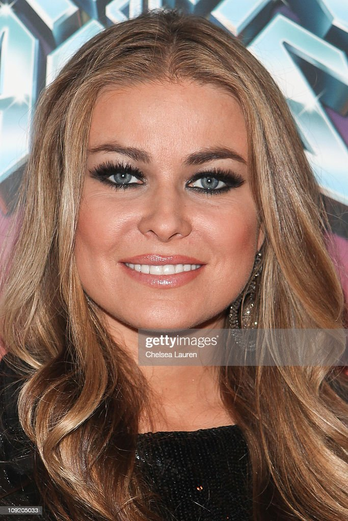 Actress <a gi-track='captionPersonalityLinkClicked' href=/galleries/search?phrase=Carmen+Electra&family=editorial&specificpeople=171242 ng-click='$event.stopPropagation()'>Carmen Electra</a> arrives at the Opening Night of 'Rock of Ages' at the Pantages Theatre on February 15, 2011 in Hollywood, California.
