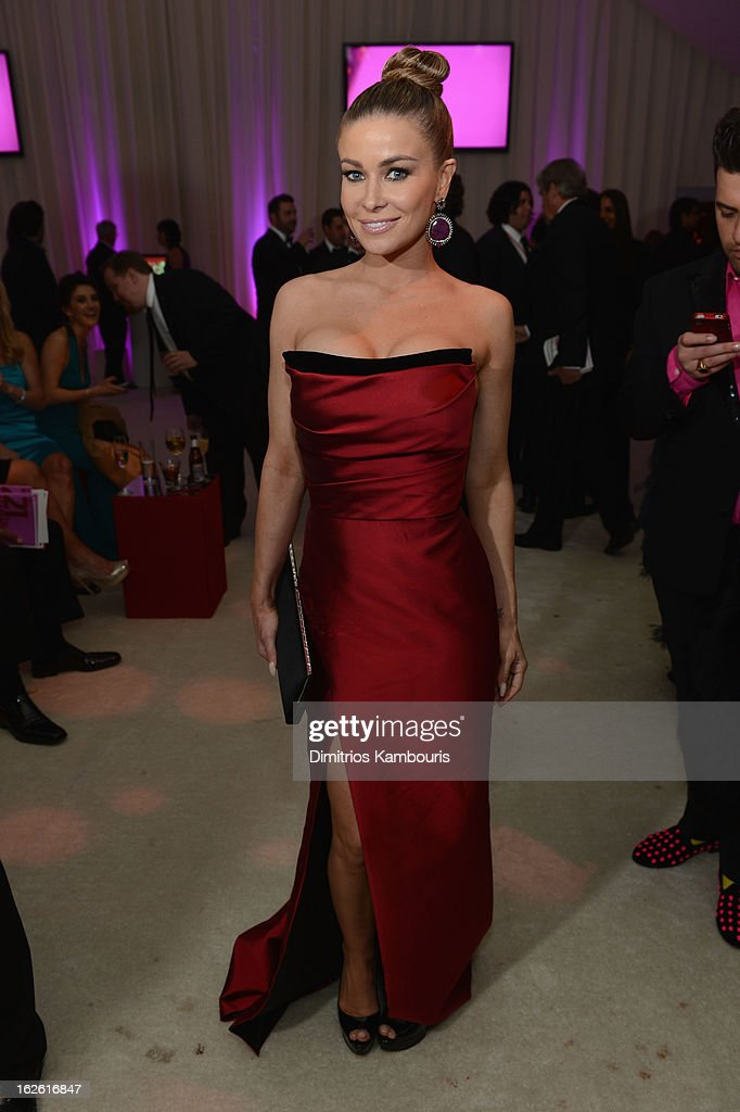 Actress Carmen Electra attends the 21st Annual Elton John AIDS Foundation Academy Awards Viewing Party at West Hollywood Park on February 24, 2013 in West Hollywood, California.