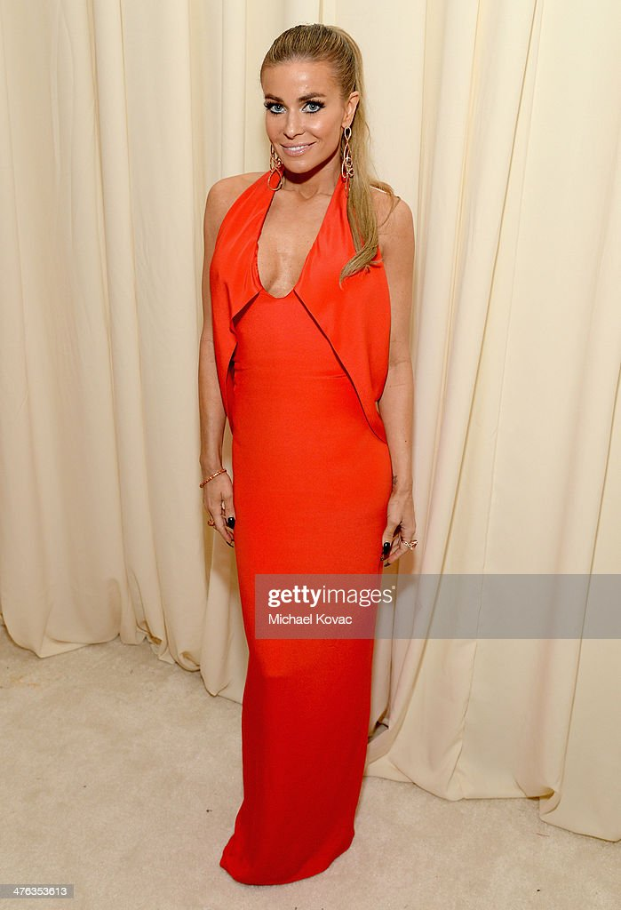 Actress Carmen Electra attends the 22nd Annual Elton John AIDS Foundation Academy Awards Viewing Party at The City of West Hollywood Park on March 2, 2014 in West Hollywood, California.