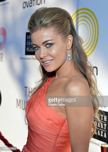 Actress Carmen Electra attends the 2nd Annual Dizzy Feet Foundation's Celebration of Dance Gala at Dorothy Chandler Pavilion on July 28 2012 in Los...