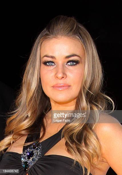 Actress Carmen Electra attends the 4th Anniversary Party at Pangaea Nightclub At Seminole Hard Rock Hotel and Casino on February 28 2009 in Hollywood...