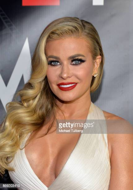 Actress Carmen Electra attends the 4th Annual CineFashion Film Awards at El Capitan Theatre on October 8 2017 in Los Angeles California