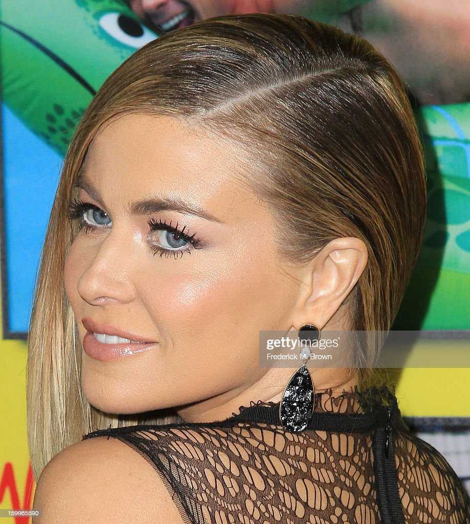 Actress <a gi-track='captionPersonalityLinkClicked' href=/galleries/search?phrase=Carmen+Electra&family=editorial&specificpeople=171242 ng-click='$event.stopPropagation()'>Carmen Electra</a> attends the Premiere Of Relativity Media's 'Movie 43' at the TCL Chinese Theatre on January 23, 2013 in Hollywood, California.