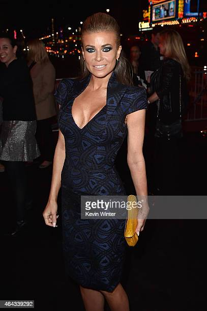 Actress Carmen Electra attends the premiere of Warner Bros Pictures' 'Focus' at TCL Chinese Theatre on February 24 2015 in Hollywood California