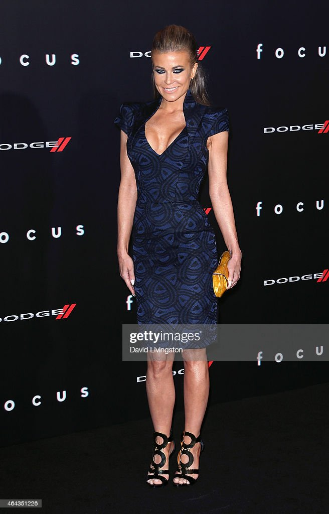 Actress Carmen Electra attends the premiere of Warner Bros. Pictures' 'Focus' at the TCL Chinese Theater on February 24, 2015 in Hollywood, California.