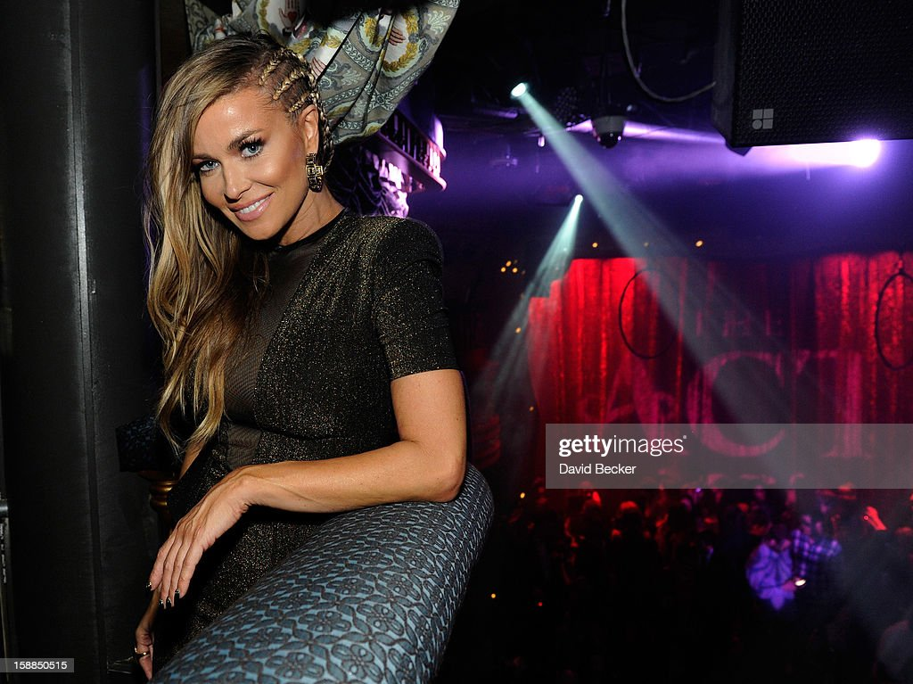 Actress Carmen Electra celebrates New Year's Eve at The Act at The Palazzo on December 31, 2012 in Las Vegas, Nevada.