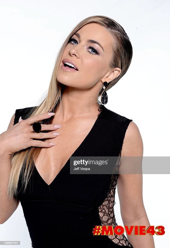 Actress <a gi-track='captionPersonalityLinkClicked' href=/galleries/search?phrase=Carmen+Electra&family=editorial&specificpeople=171242 ng-click='$event.stopPropagation()'>Carmen Electra</a> poses for a portrait during Relativity Media's 'Movie 43' Los Angeles premiere at TCL Chinese Theatre on January 23, 2013 in Hollywood, California.