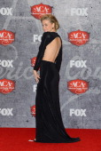 Actress Carmen Electra poses in the press room during the 2012 American Country Awards at the Mandalay Bay Events Center on December 10 2012 in Las...