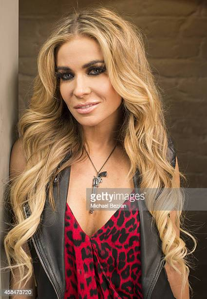 Actress Carmen Electra visits The Lowdown with Diana Madison on November 5 2014 in Hollywood California