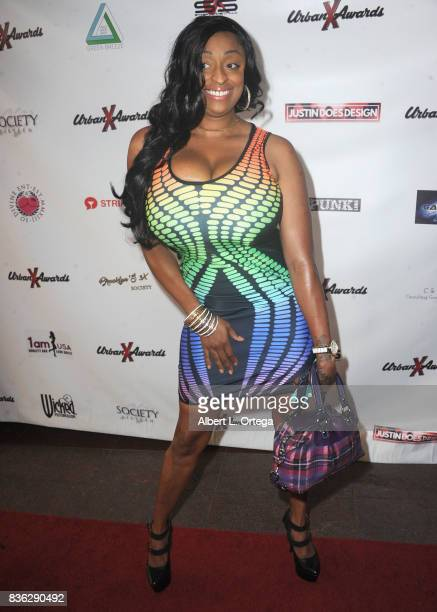 Actress Carmen Hayes arrives for the 6th Urban X Awards held at Stars On Brand on August 20 2017 in Glendale California
